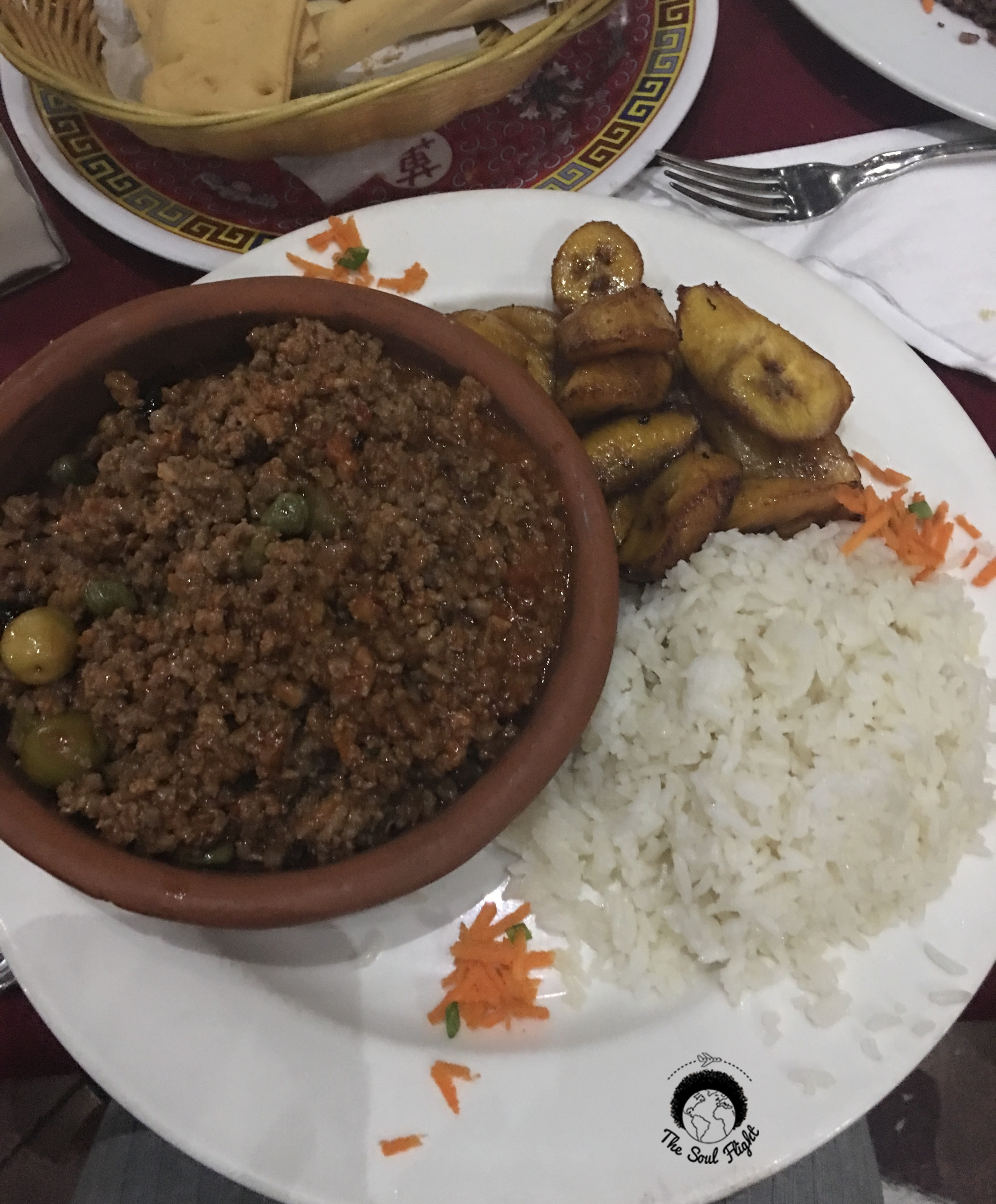 Picadillo at Flor de Loto
