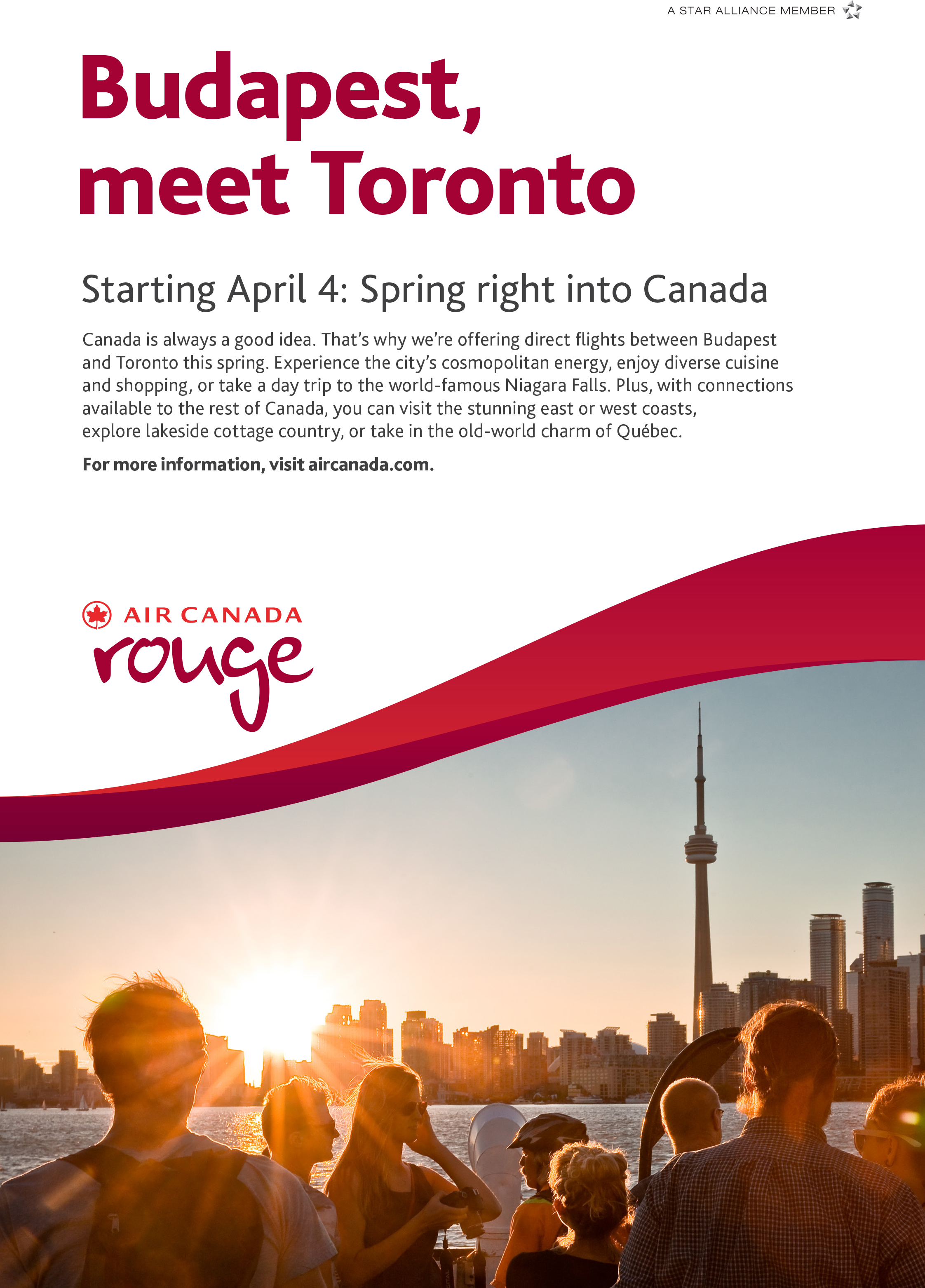 Budapest Air Canada Rouge ad.jpg