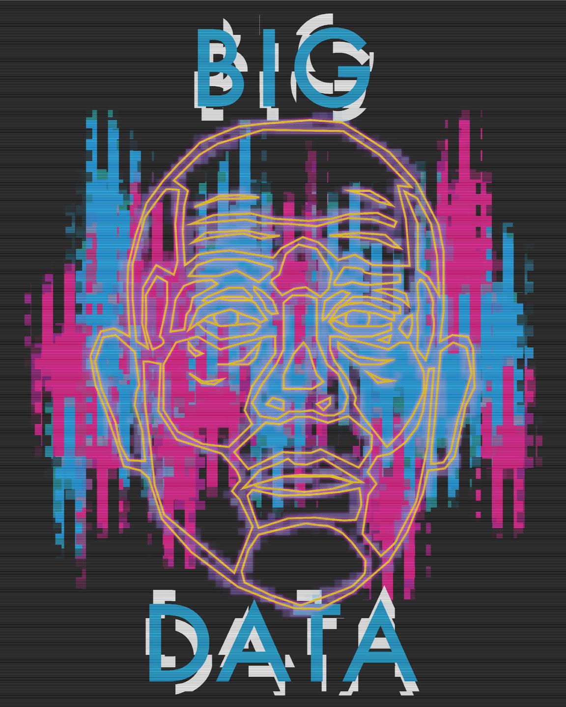"Big Data - 16""x20"" - $75"