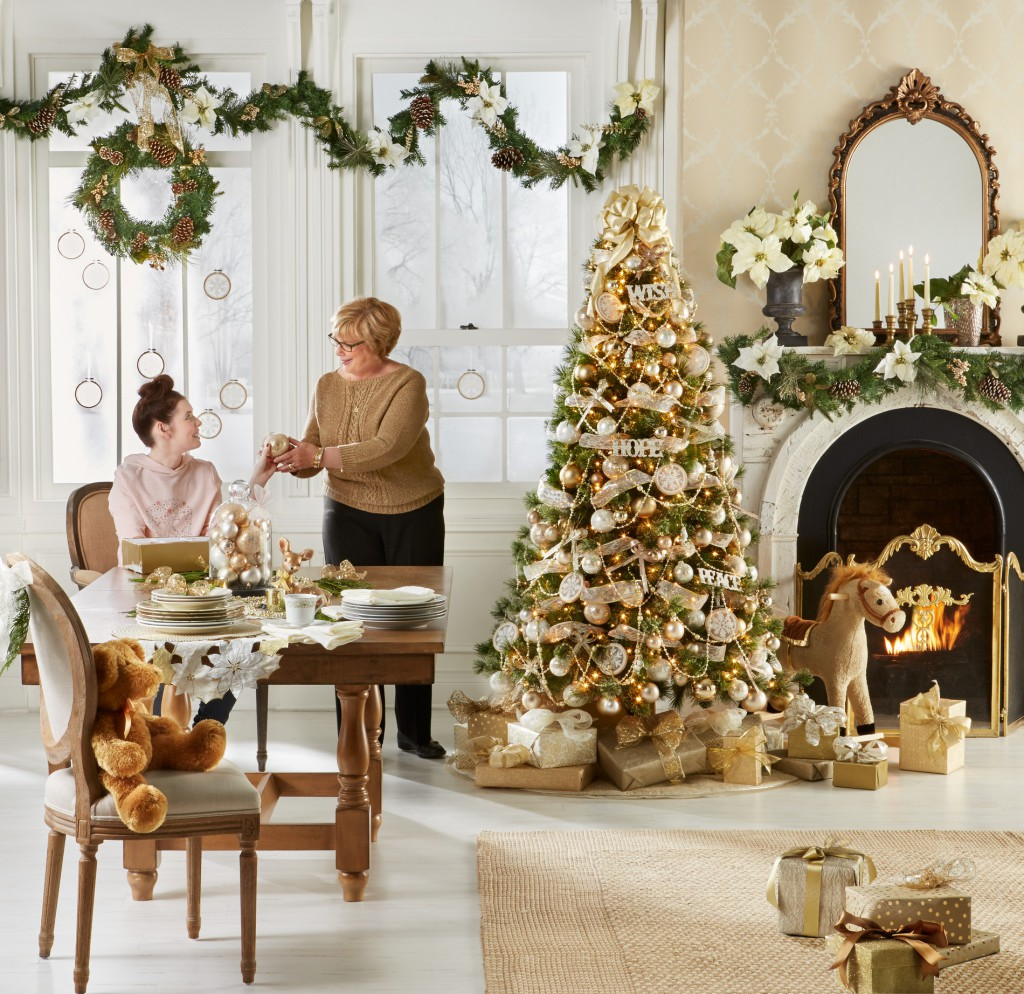 All holiday Jaclyn Smith Collections are shoppable for you to achieve the look you're going for – visit your local Kmart store or shop online at Kmart.com.