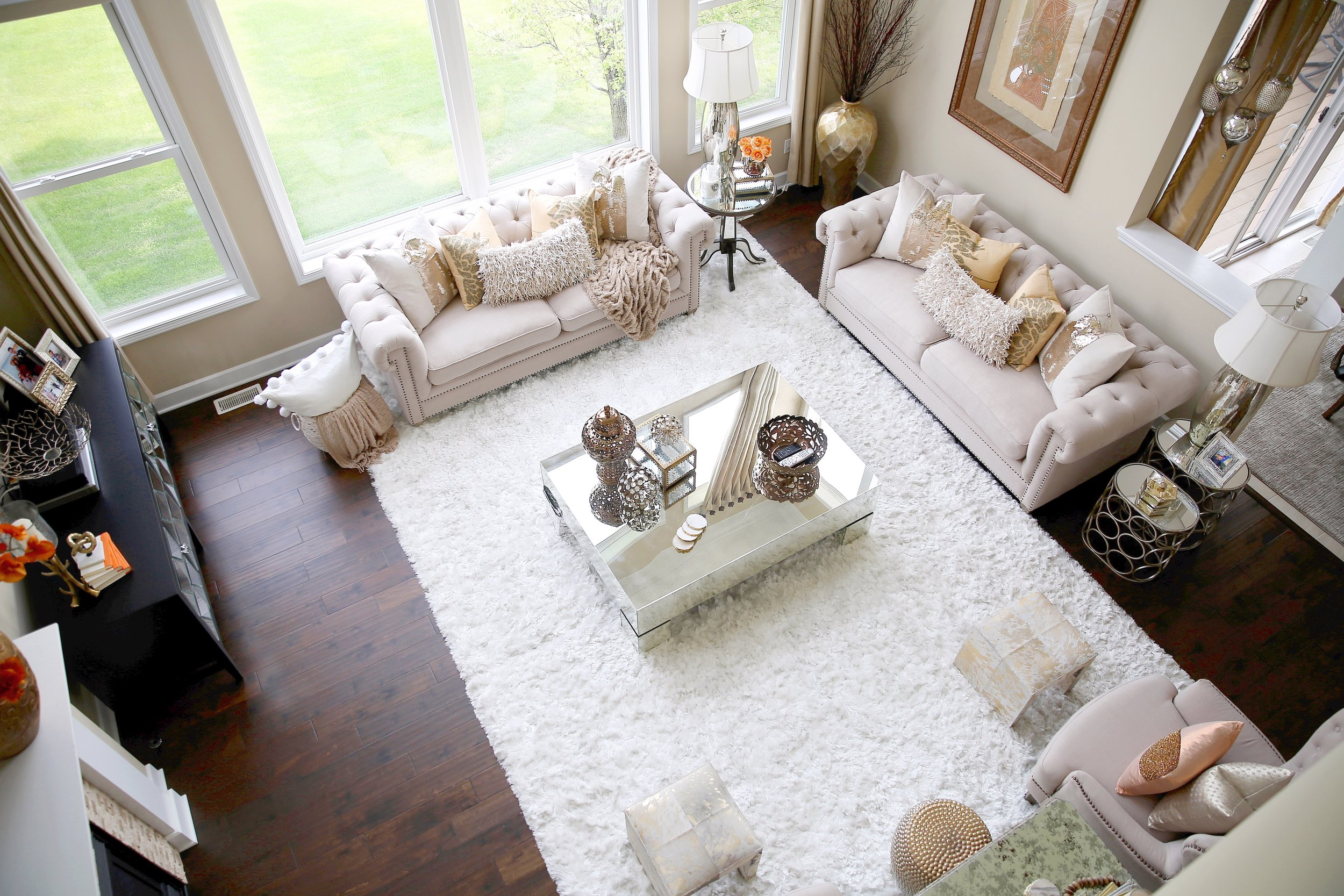 Farah Merhi, Inspire Me Home Decor, Living Room