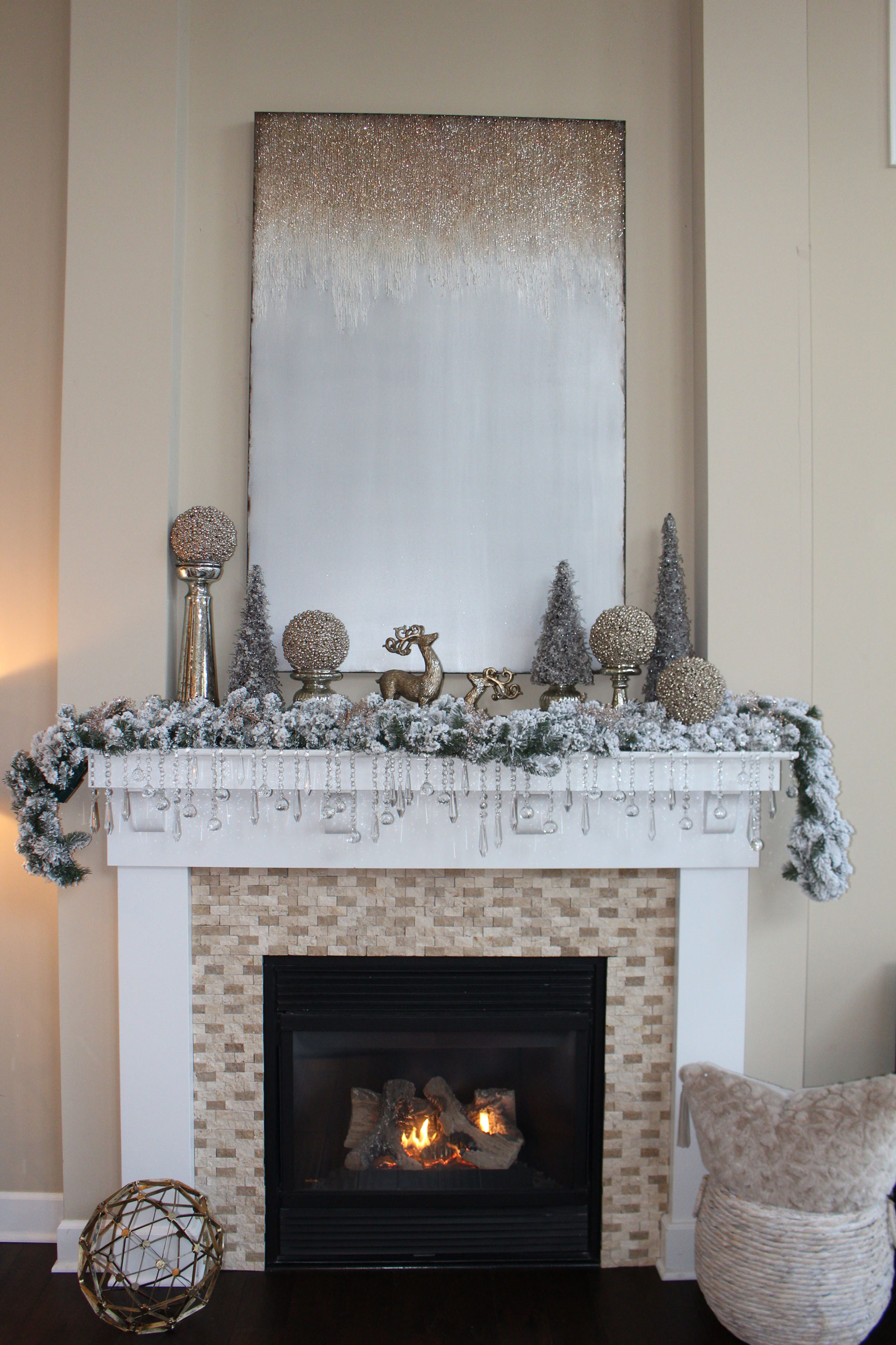 Farah Merhi's Winter Wonderland, Fireplace