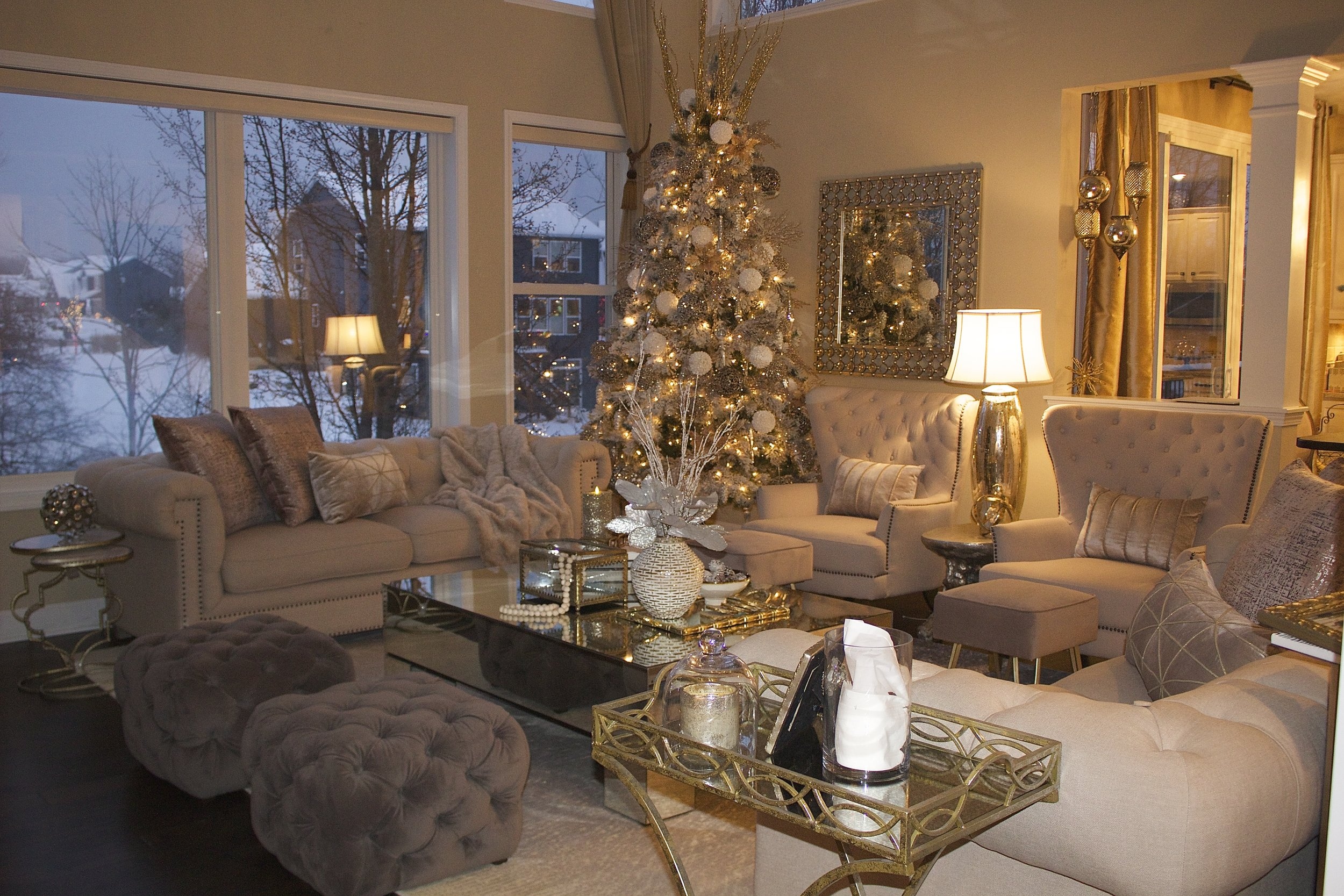 Farah Merhi Winter Wonderland, Living Room
