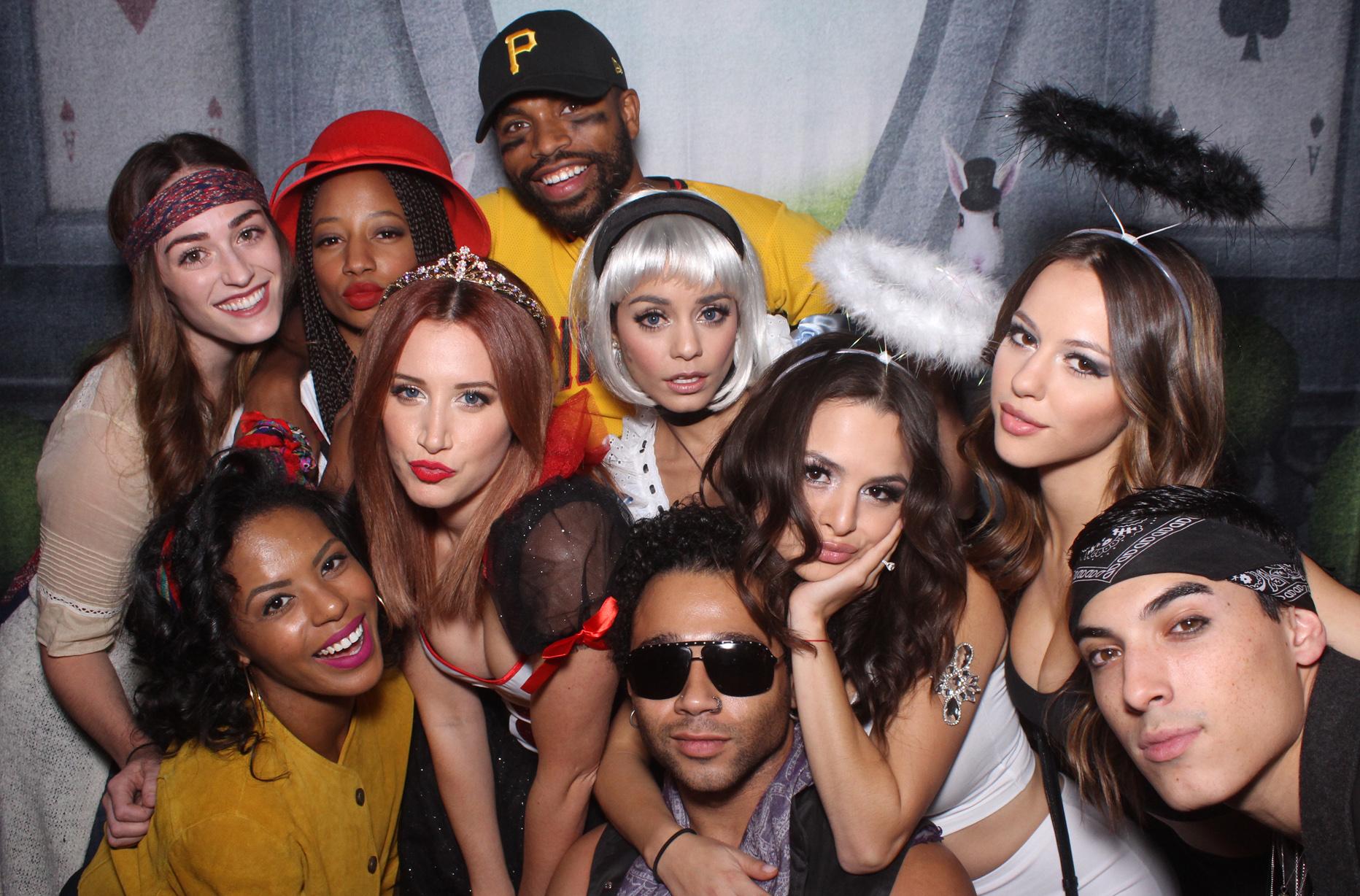 High School Musical Reunion Open Air Photobooth