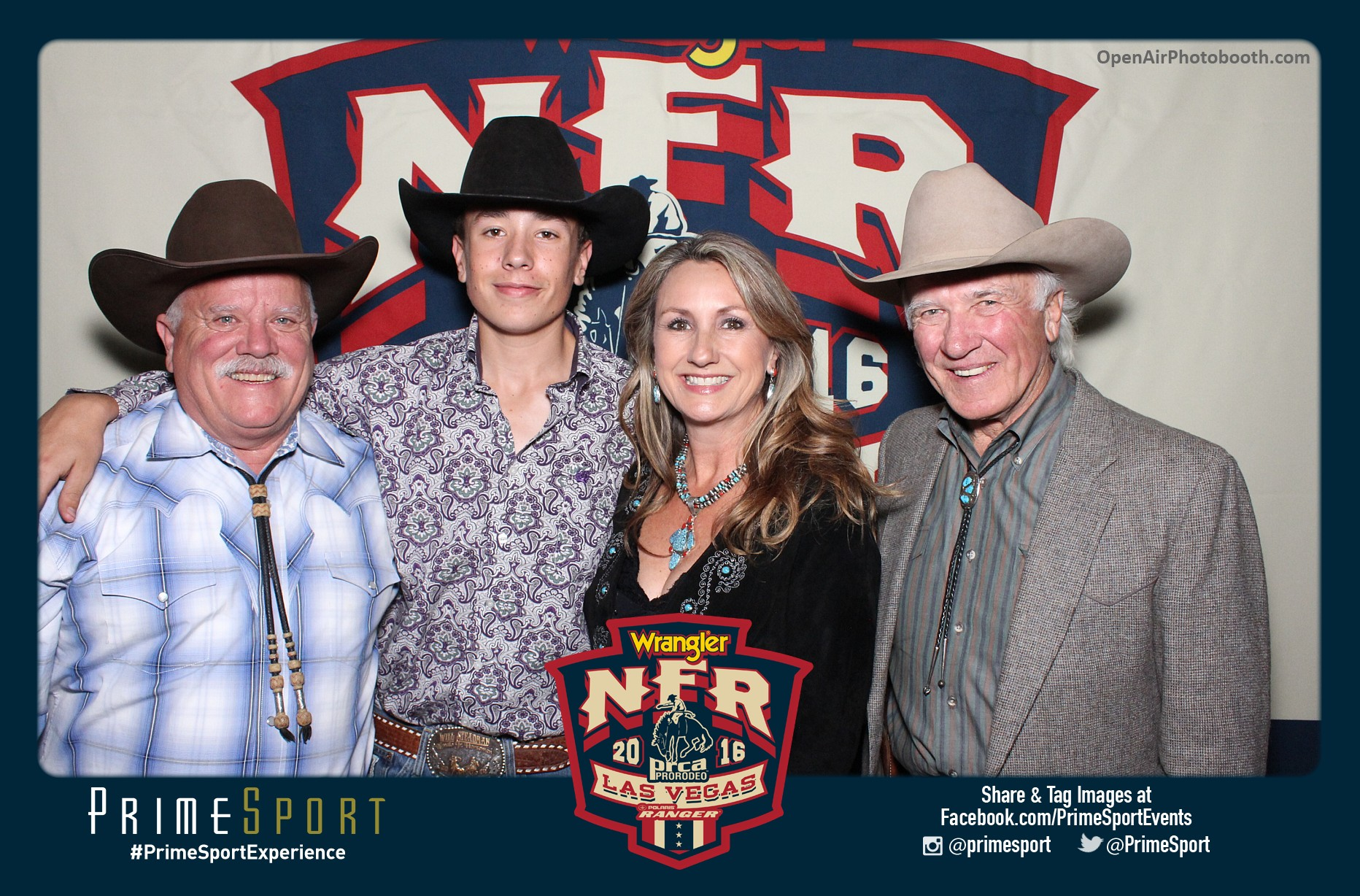 NFR Rodeo Open Air Photobooth