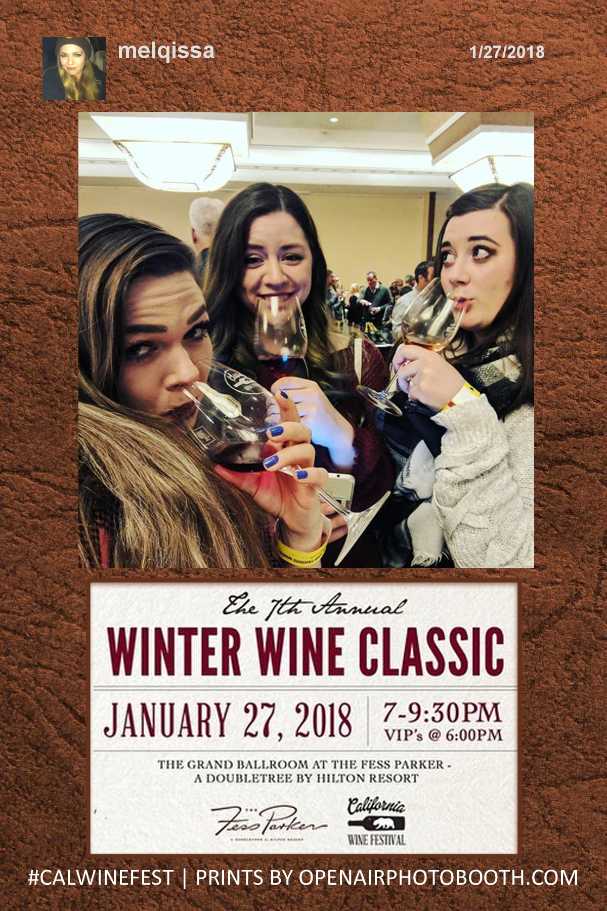 Winter Wine Classic - Hashtag Printer 2