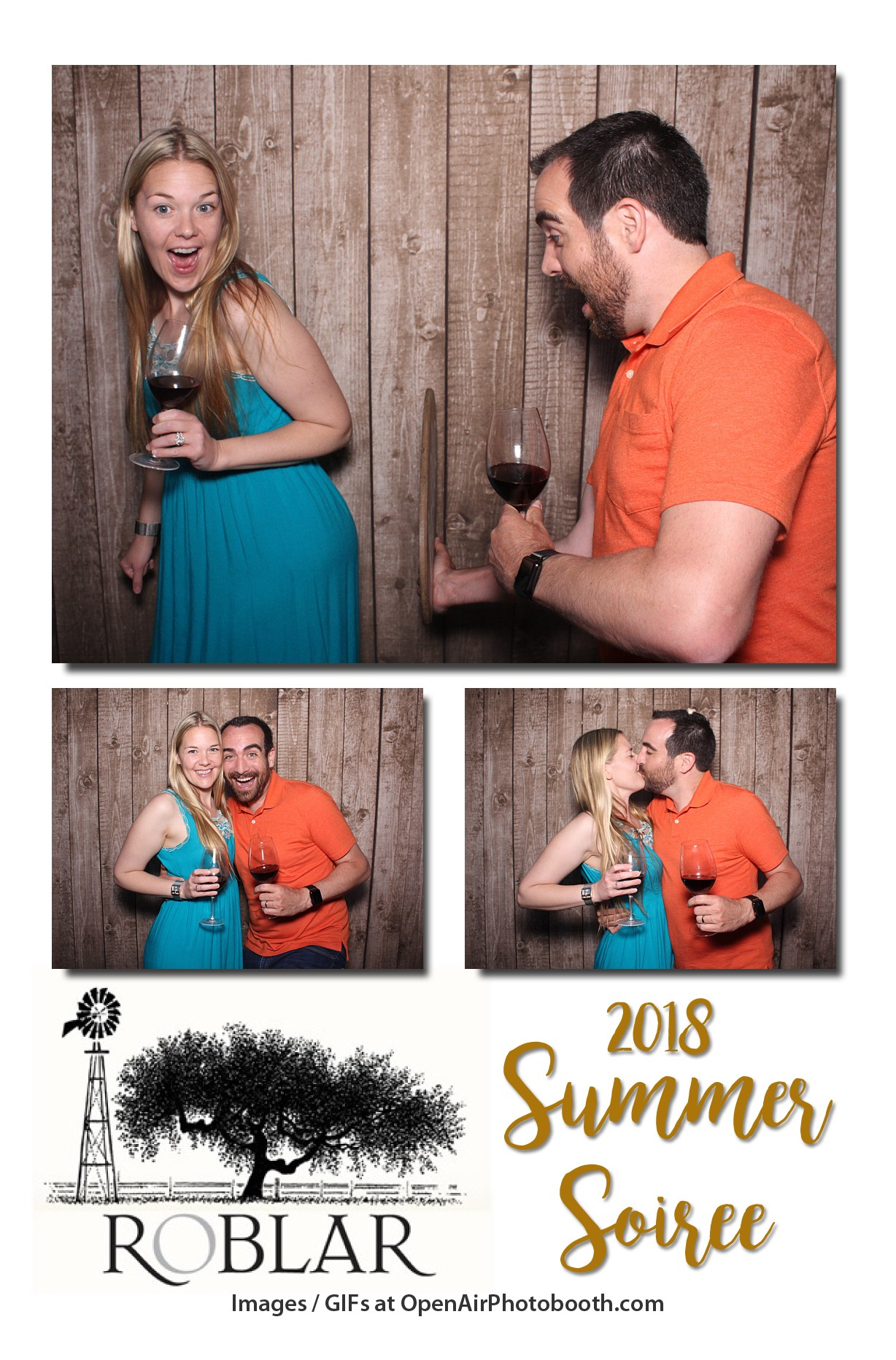 roblar winery photo booth