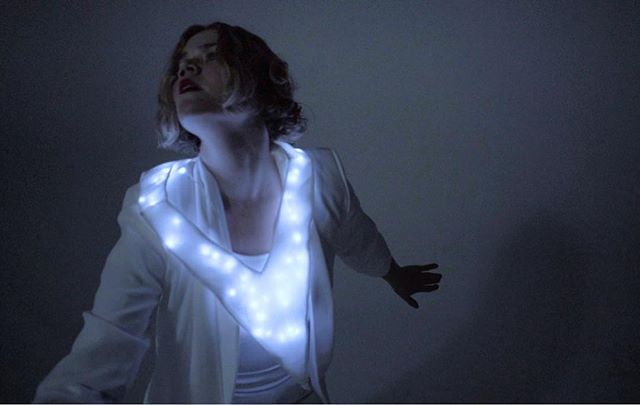 """✨✨""""Off You Go"""" by @oshwasounds✨✨ dir. Anneliese Cooper ~*link in bio*~ #wearablelight #enterthevoid #a9n4"""