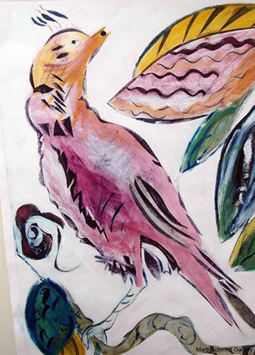 Lavender Bird
