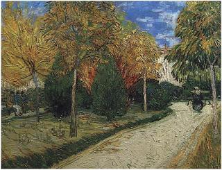 Public Park, Arles by Vincent Van Gogh