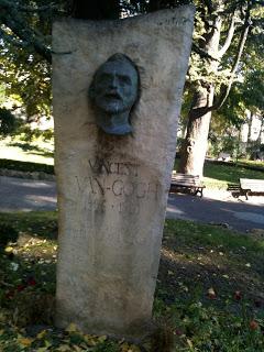 Arles marker of Van Gogh