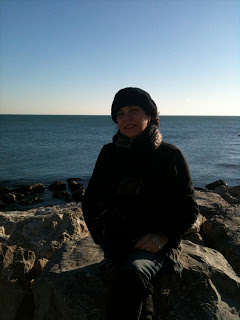 Me Sur la Mediterranean Sea at Les Saint Maries del  la Mer