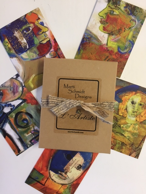 FACES NOTE CARDS