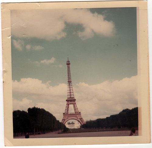 Eiffel Tower 1966