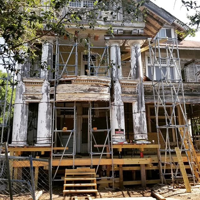 Progress on my porch continues! #sapreservation #powerofpreservation #savingplaces #thisplacematters