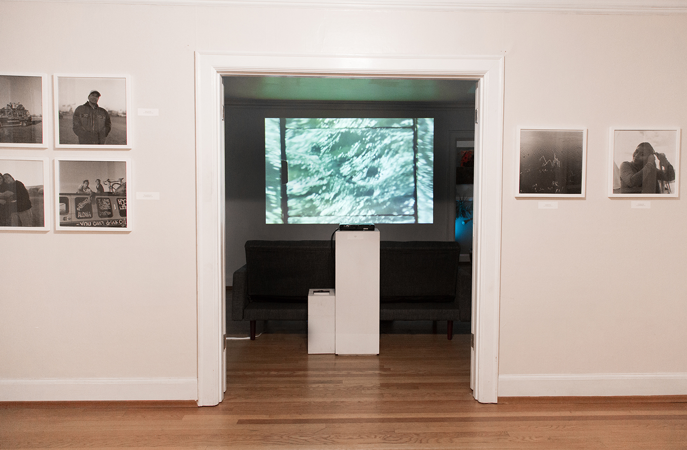 Chantal Anderson,  Rivers , 2016 (documentation by Chantal Anderson)