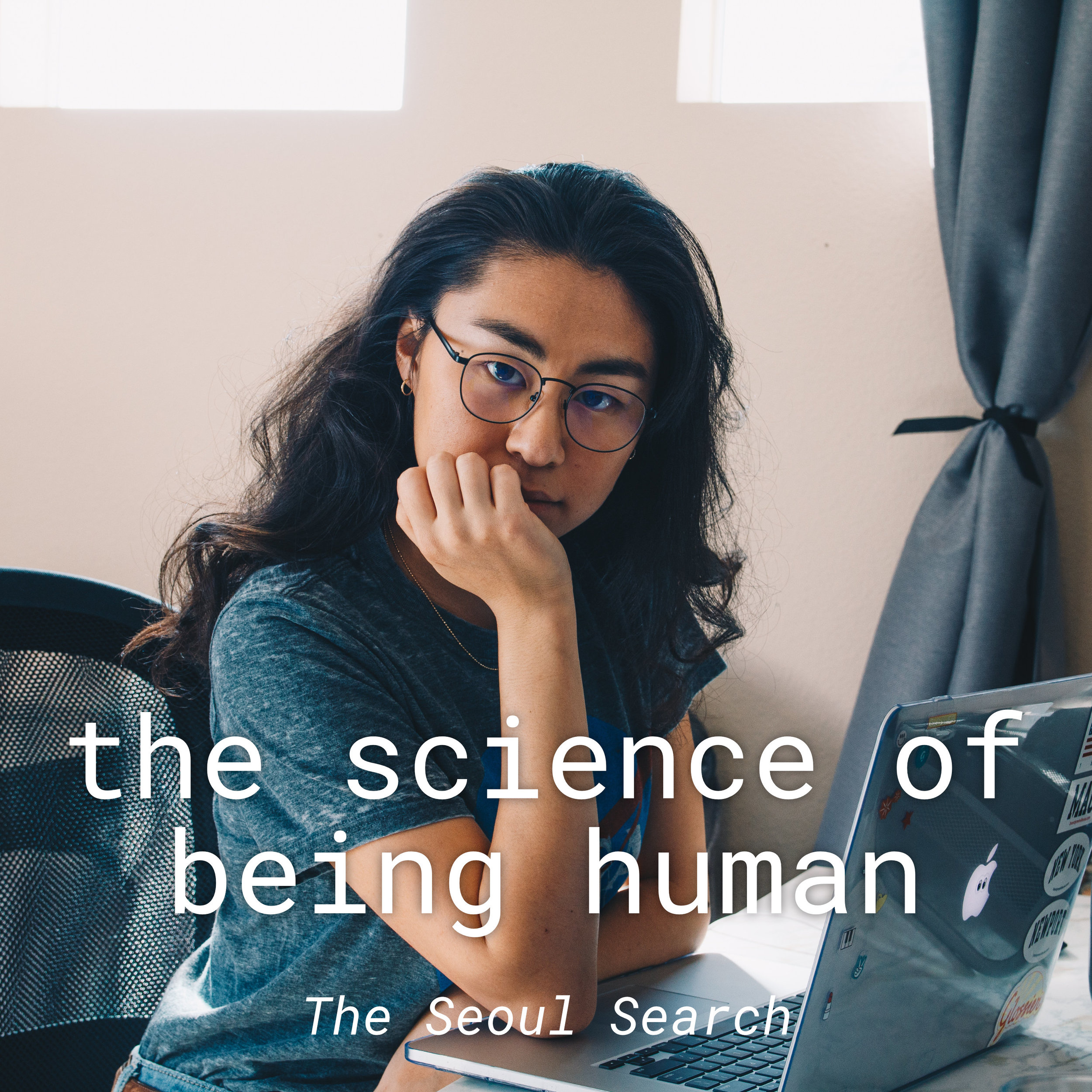 // the science of being human - My own podcast! I included my own podcast in this list because I truly do like it!