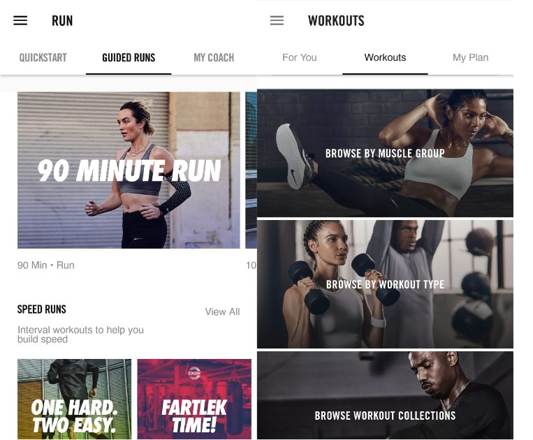 nike run+ & training club - available for Android & iOSThere's no point in studying so hard if your body isn't going to make it to the end with you. The Nike Run+ and Training Club apps have been a huge part of my physiological and psychological wellness, especially during the school year. You can create customized training plans that suit your lifestyle. The best part is that it's free.