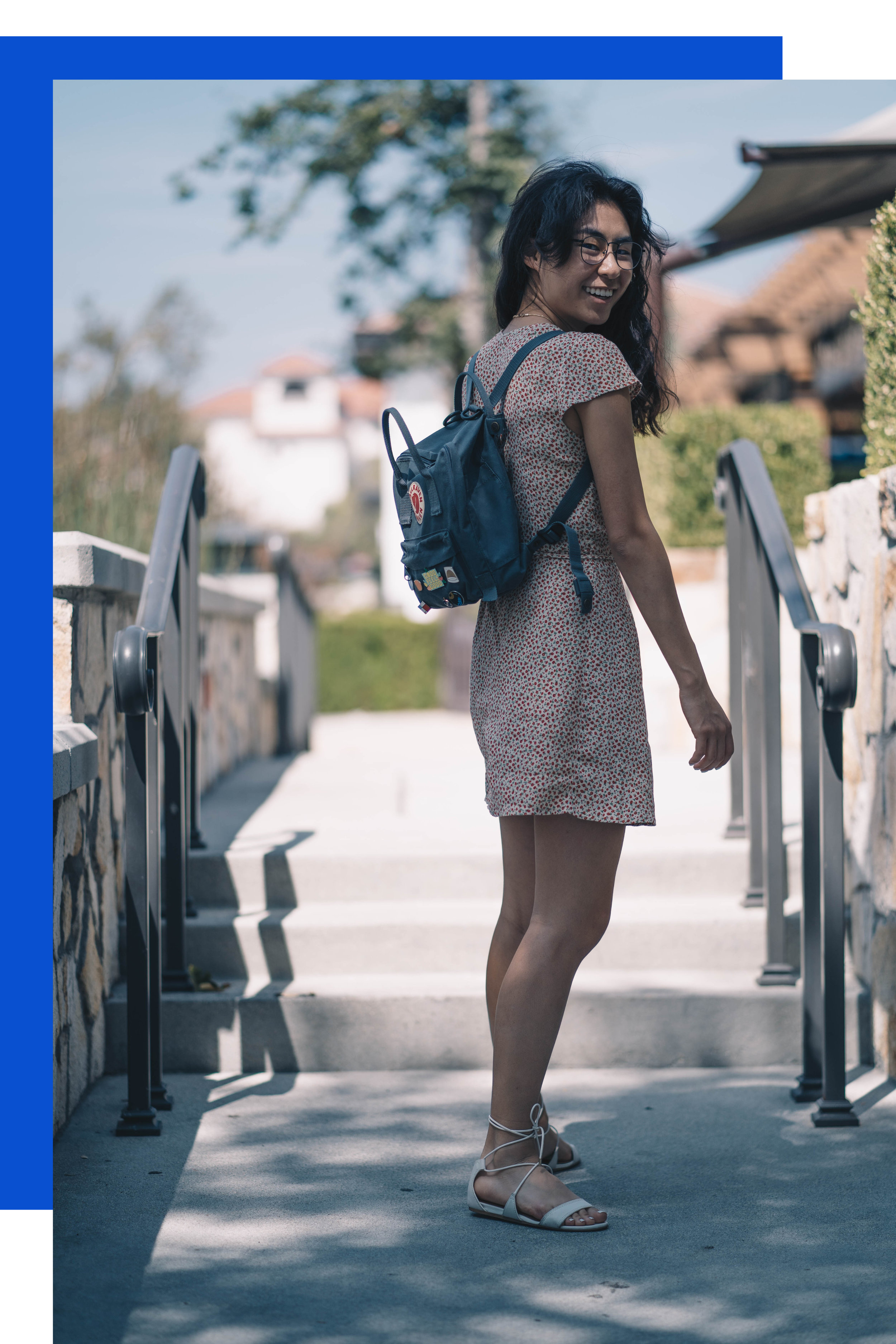 what she wore - dress → brandy melvillebackpack → fjallraven kankengladiator sandals → aldoI've been wearing the same dress over and over lately. It's comfortable, breezy, and perfect. And it's perfect for your food baby.