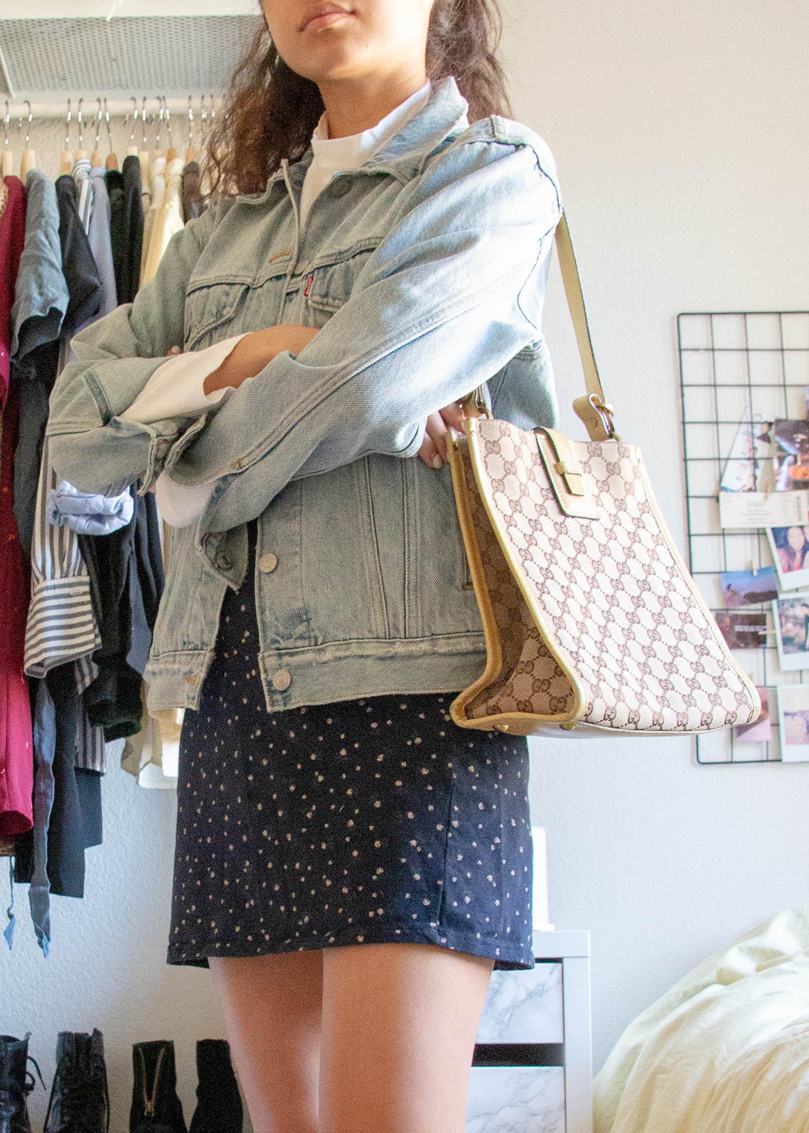 the mini dress - long sleeved shirt - everlane*dress - brandy melvilleboots - doc martensbag - vintage