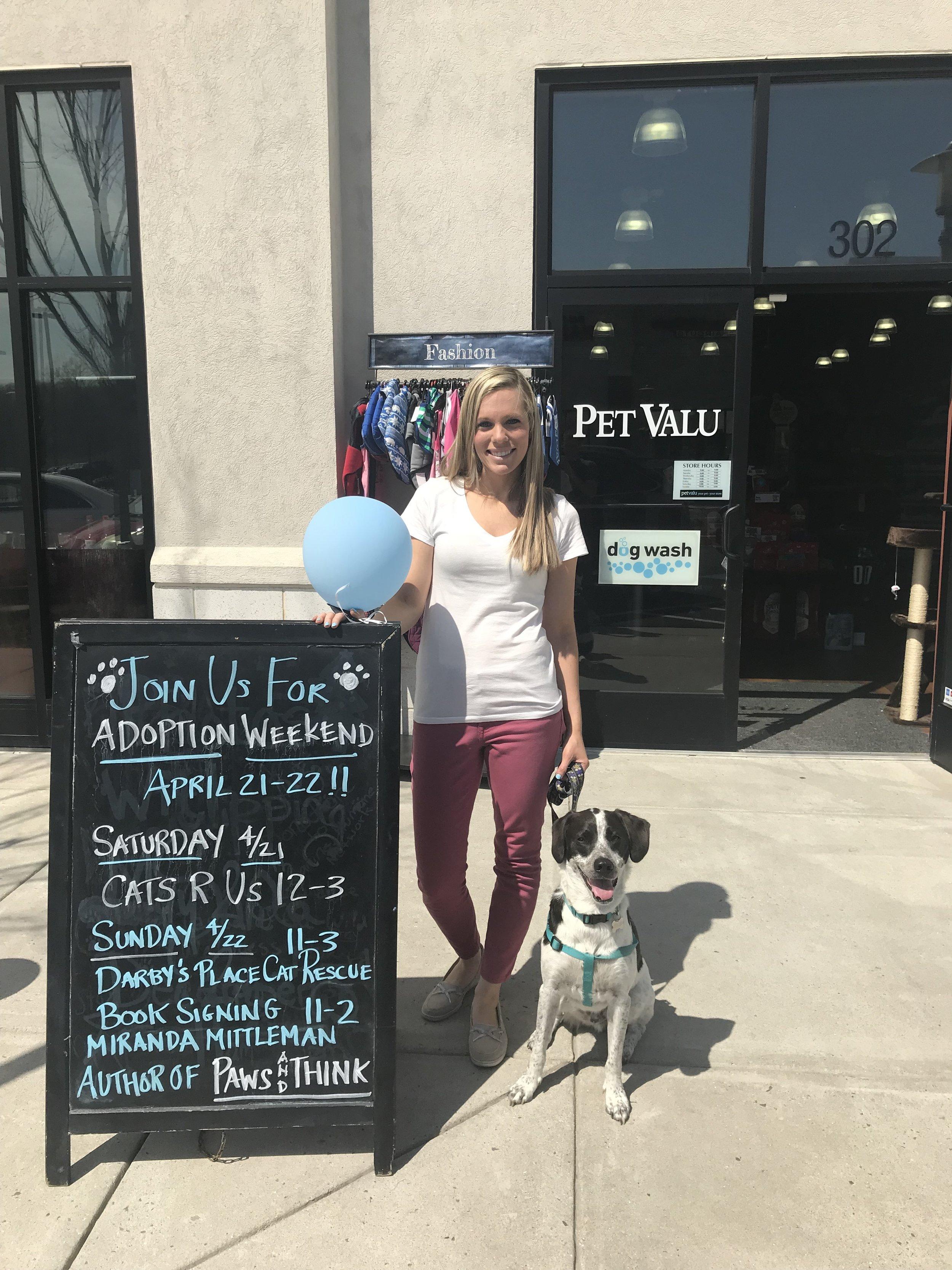 Pet Valu Adoption Event