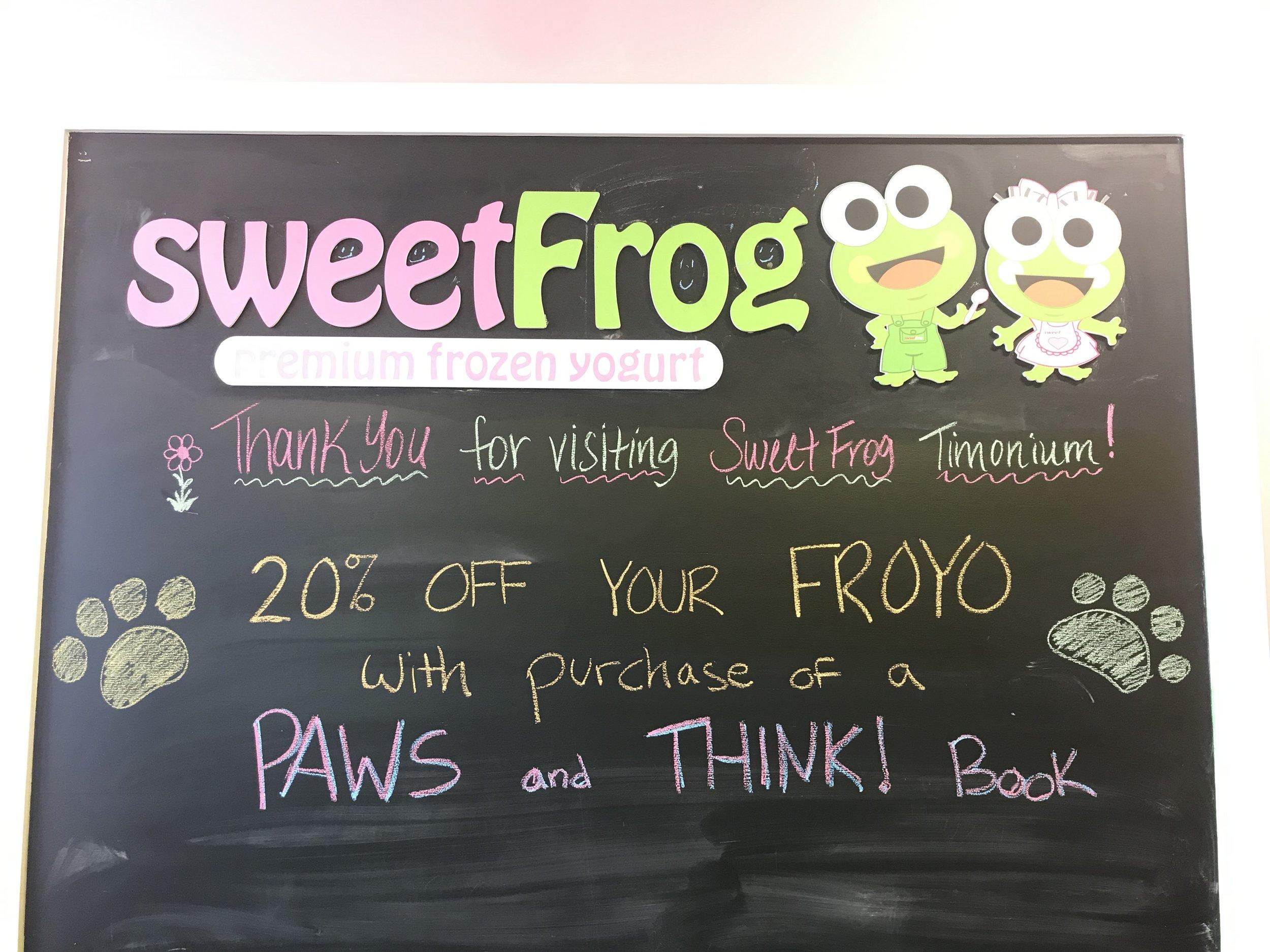 Sweet Frog (Timonium)