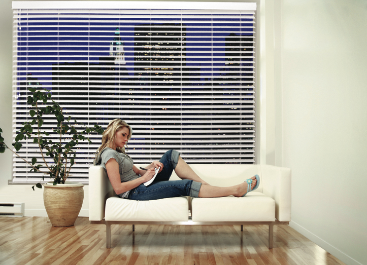 All our window furnishings are custom made to fit perfectly in your home. - Our blinds are not mass produced and then cut to your size. Our blinds are made just for you.