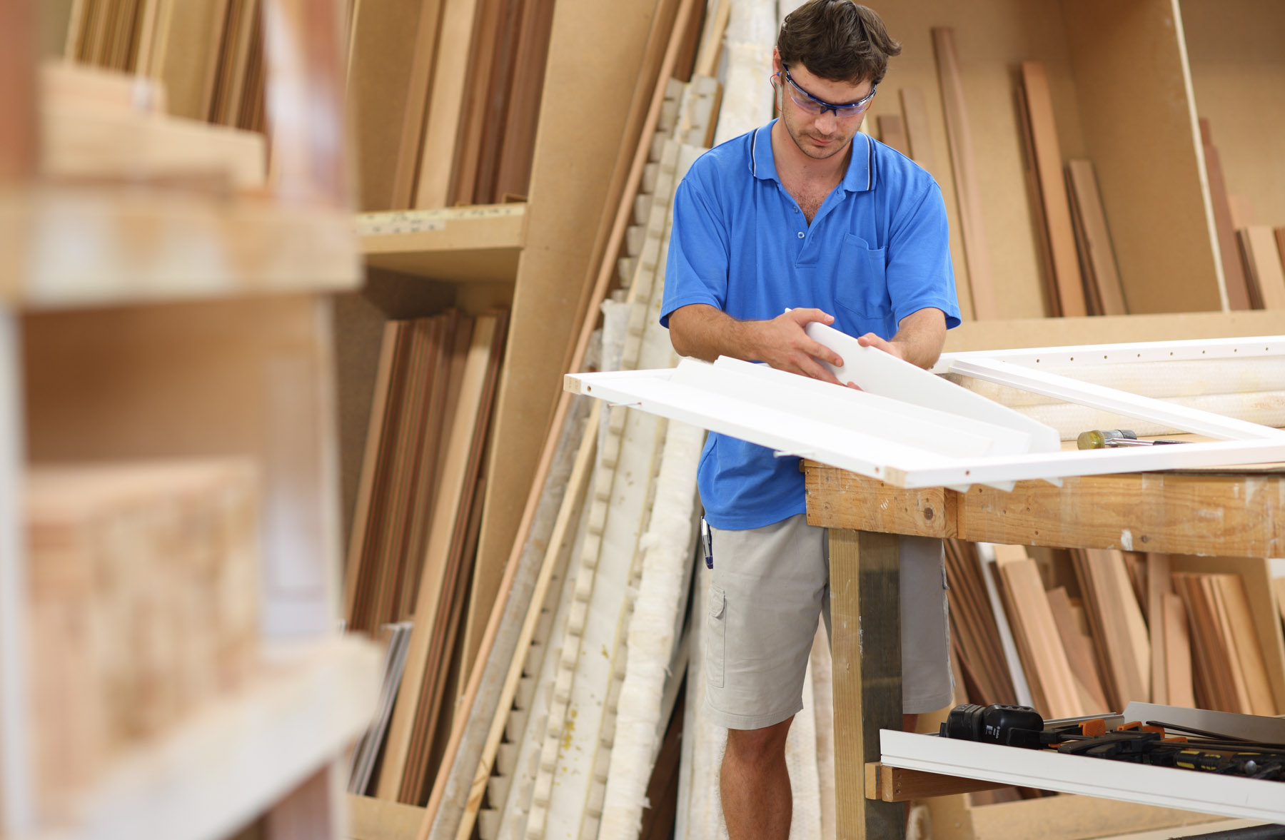 Our blinds are made in Australia. - Our blinds and shutters are made by skilled craftsman you can trust.
