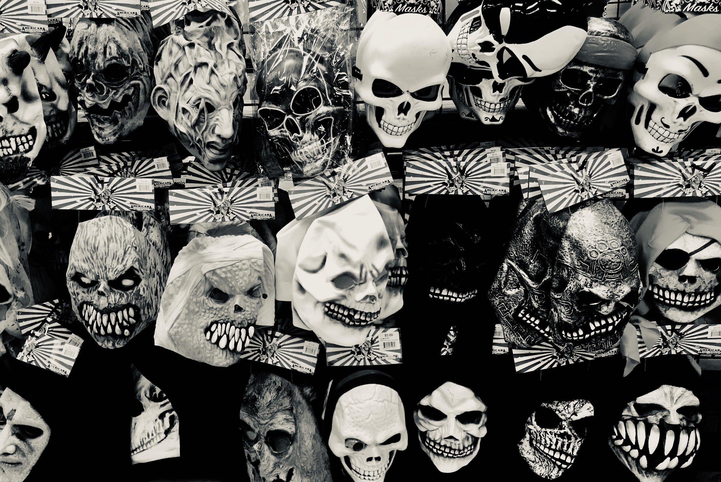 Halloween Post: Dark Thoughts - Thinking about bad thoughts of all kinds