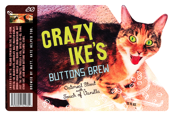 Crazy Ike's Buttons Brew         Beer            2013
