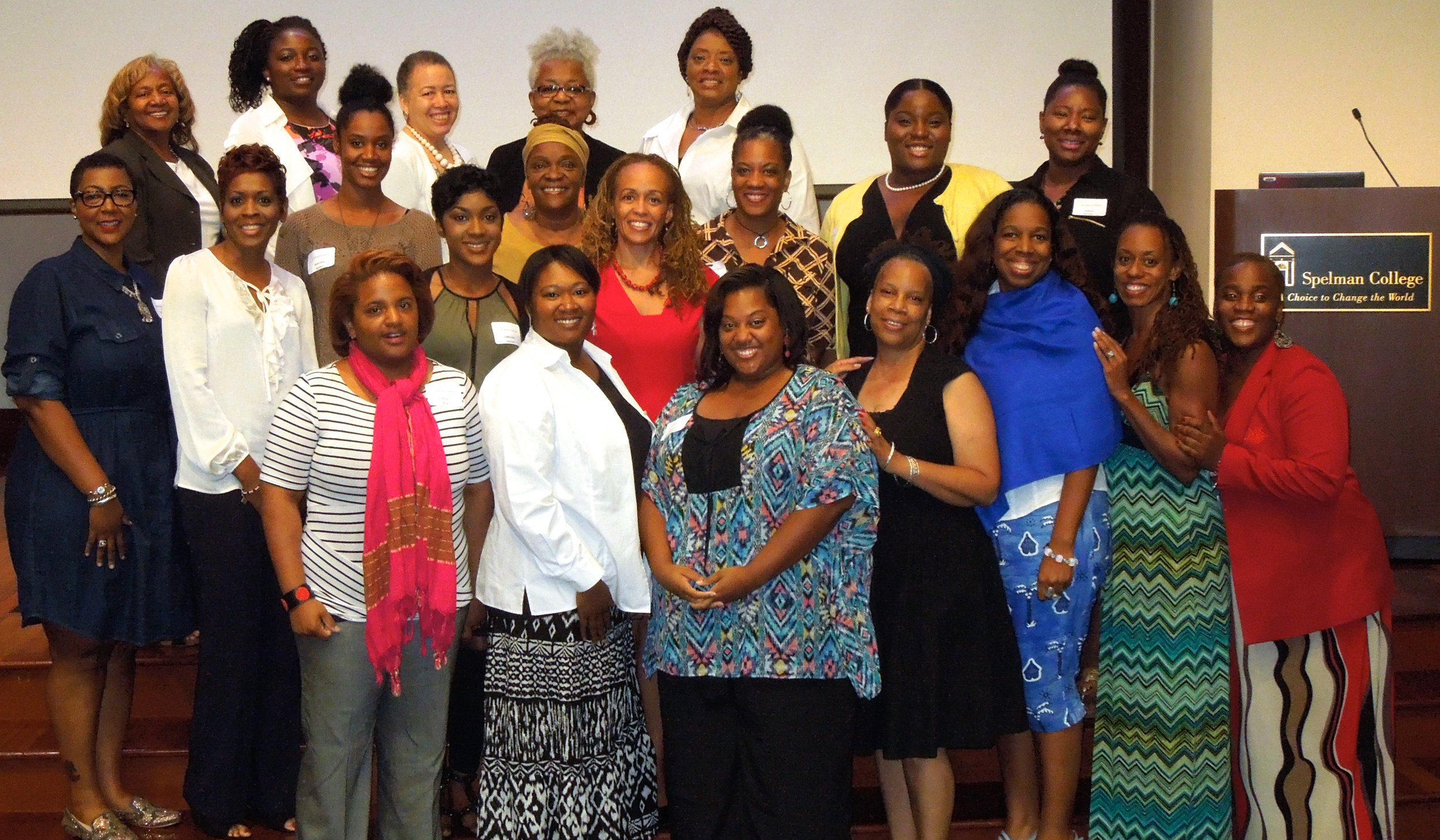 Black Women's Life Balance and Wellness conference, Sept. 19, 2015.