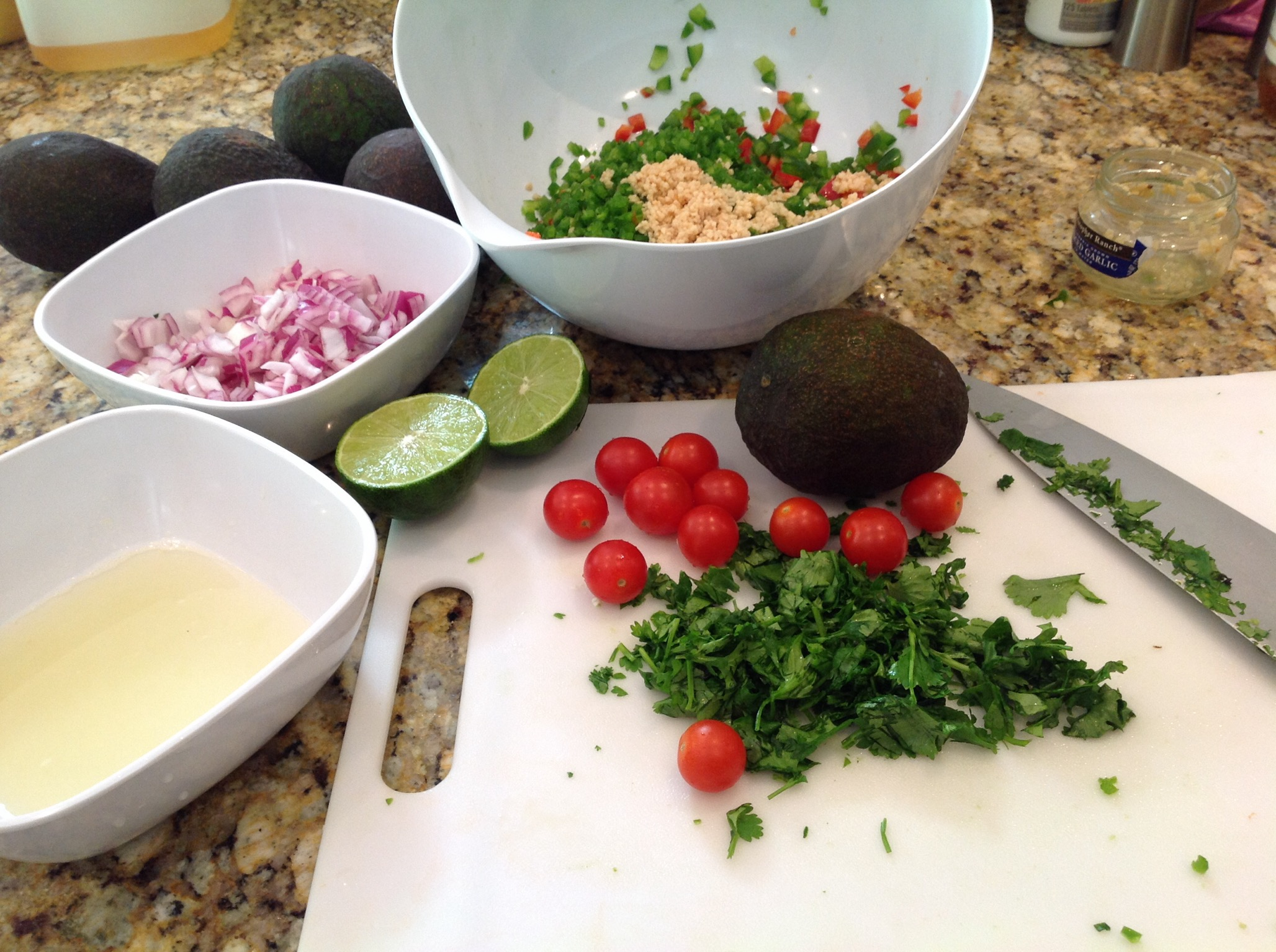 Fixings for Garlicky Guacamole(1).JPG