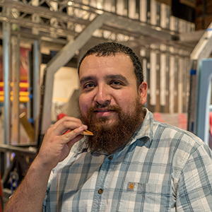 Hugo Vasquez  Exhibit Fabricator