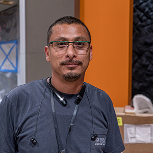 Jose Dominguez  Exhibit Fabricator
