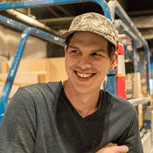 Karek Crawford  Exhibit Fabricator