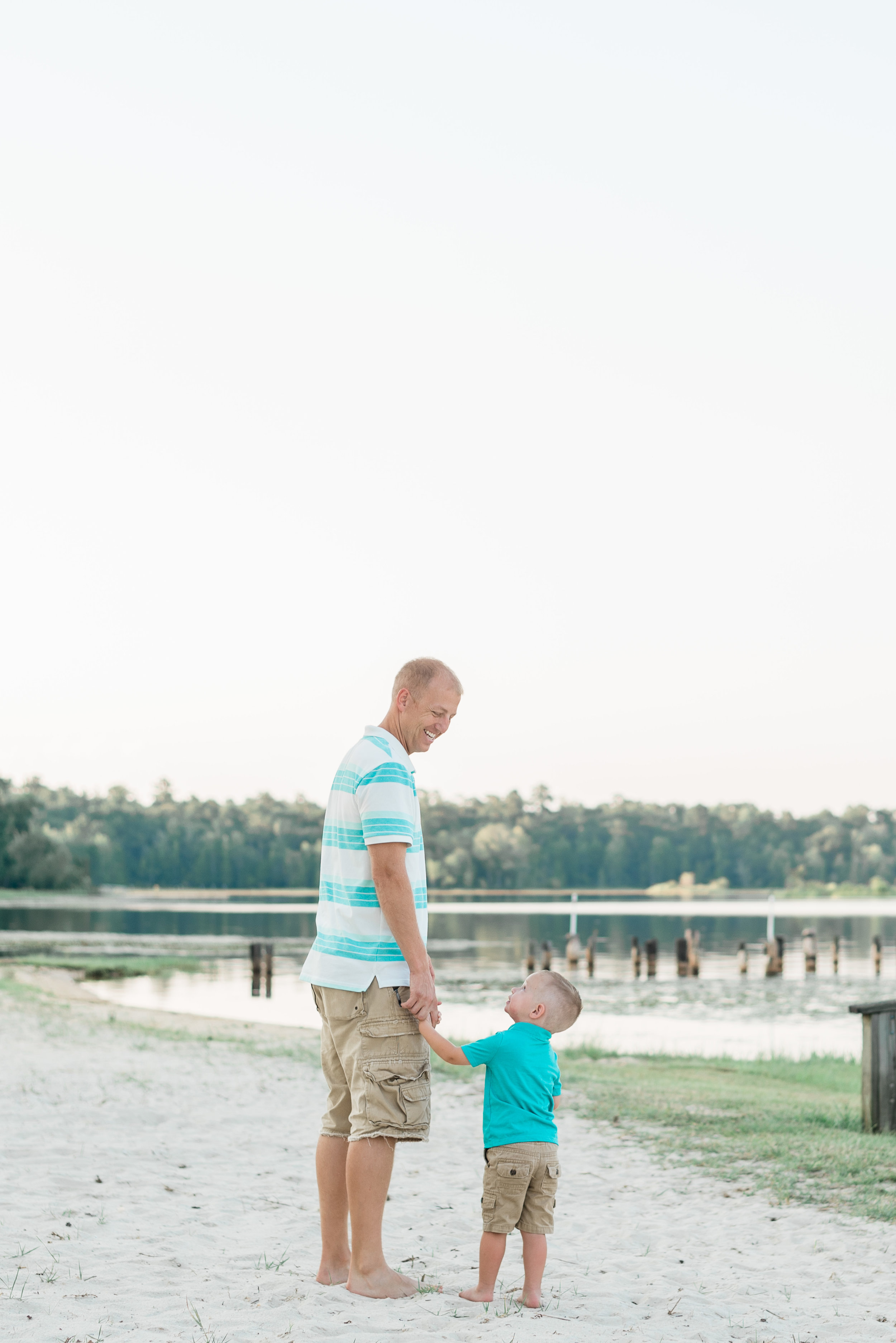 Killian & Sean - This father and son shoot was absolutely adorable! Little Killian had a blast hanging out with daddy, running, playing, flying through the air, and fishing to finish off the night.These two are such a great pair!Scroll down to see all of the sweetness from this session!