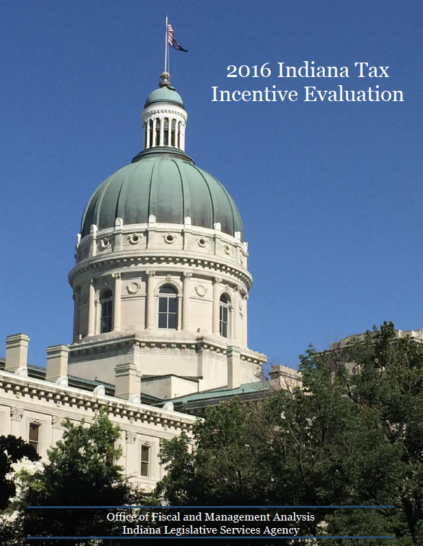 2016 Indiana Tax Incentive Evaluation