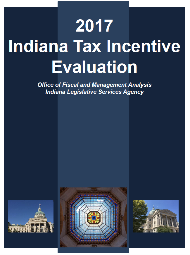 2017 Indiana Tax Incentive Evaluation