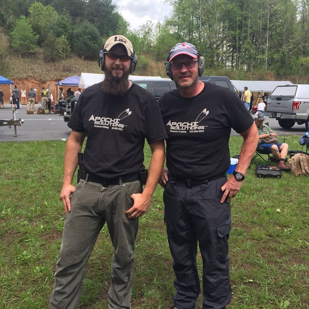 Tim and Greg at their first GSSF Outdoor Competition