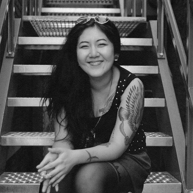 Meet Erin, our host for #Read010. She's also the founder of @storiesofours_to ,  a grassroots project that aims to deepen community, invite solidarity, and challenge dominant narratives through intentional acts of storytelling and creative arts. ⠀⠀⠀⠀⠀⠀⠀⠀⠀ A Korean-Canadian settler who resides here in Toronto, Erin's work lies at the heart of the barriers our protagonist June faces in 'That Time I Loved You'; at the intersections of anti-oppressive pedagogies. She thrives to uncover the concepts of identity, resilience, community healing and wellbeing, and strategies for grassroots resistance through her many other titles she holds as a freelance facilitator, curriculum writer, educator, event producer, and storyteller. ⠀⠀⠀⠀⠀⠀⠀⠀⠀ She's a true force. Like whoa.  We're so honoured to have her join us on June 06 to dissect June's world with the award-winning author Carrianne Leung. RSVP is filling up fast- grab a seat while you can. Tap that link in bio.