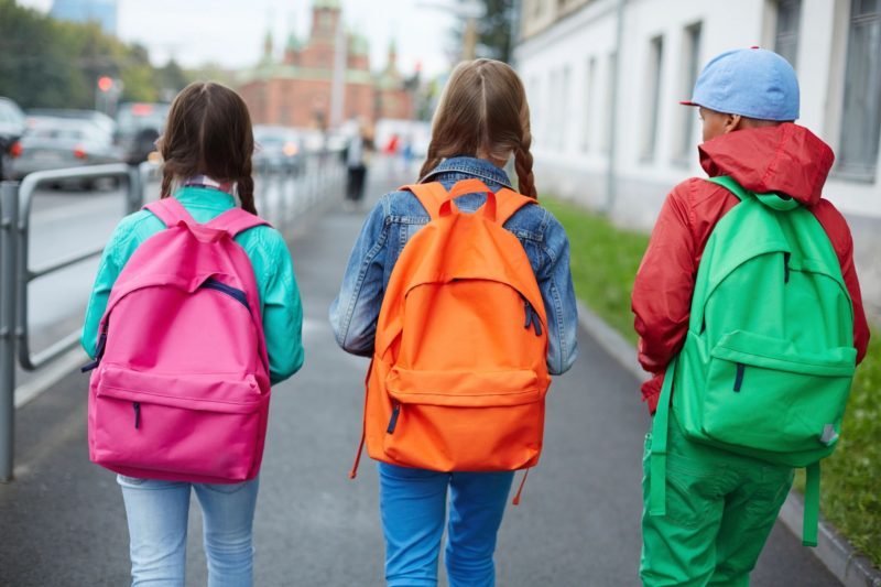 Backpack Safety Tips  - Backpacks come in all sizes, colors, fabrics, and shapes and help kids of all ages express their own personal sense of style. And when used properly, they're incredibly handy. As practical as backpacks are, though, they can strain muscles and joints and may cause back pain if they're too heavy or are used incorrectly. Many things can lead to back pain — like playing sports or exercising a lot, poor posture while sitting, and long periods of inactivity. But some kids have backaches because they're lugging around their entire locker's worth of books, school supplies, and personal items all day long. Doctors and physical therapists recommend that kids carry no more than 10% to 15% of their body weight in their packs. But many carry a lot more than that. When a heavy backpack is incorrectly placed on the shoulders, the weight's force can pull a child backward. To compensate, the child might bend forward at the hips or arch the back. This can make the spine compress unnaturally, leading to shoulder, neck, and back pain.Kids who wear their backpacks over just one shoulder — as many do, because they think it looks better or just feels easier — may end up leaning to one side to offset the extra weight. They might develop lower and upper back pain and strain their shoulders and neck.Improper backpack use can also lead to bad posture. Girls and younger kids may be especially at risk for backpack-related injuries because they're smaller and may carry loads that are heavier in proportion to their body weight.Also, backpacks with tight, narrow straps that dig into the shoulders can interfere with circulation and nerves. These types of straps can lead to tingling, numbness, and weakness in the arms and hands.