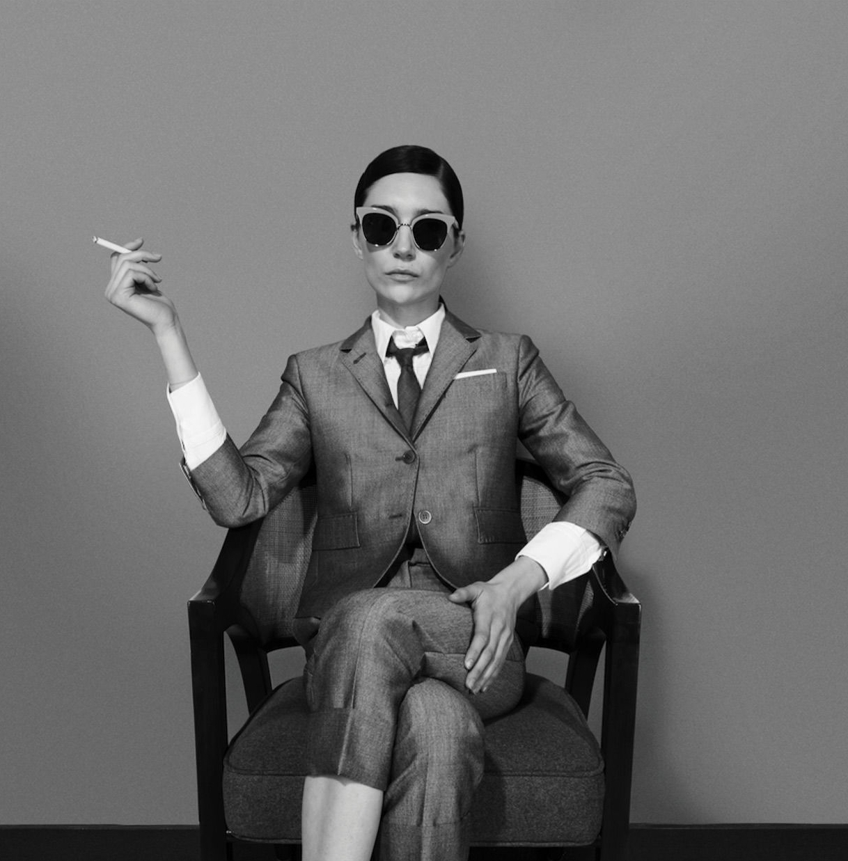Thom Browne   Thom Browne began his business with five suits and with a small by-appointment-only shop in 2001.In 2011 he launched a women's ready-to-wear collection, and in 2012 a unisex eyewear collection. Thom was the recipient of the 2012 Smithsonian Cooper Hewitt National Design Award in Fashion Design and 2013 CFDA Menswear Designer of the Year.   Learn more about Thom Browne