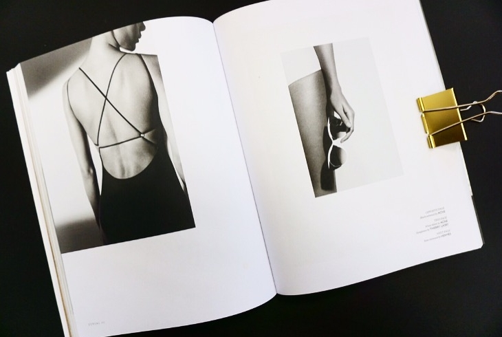 (This spread is from Cereal Magazine, a publication we keep in office for inspiration. Their imagery, copy and layout are stunningly simple)