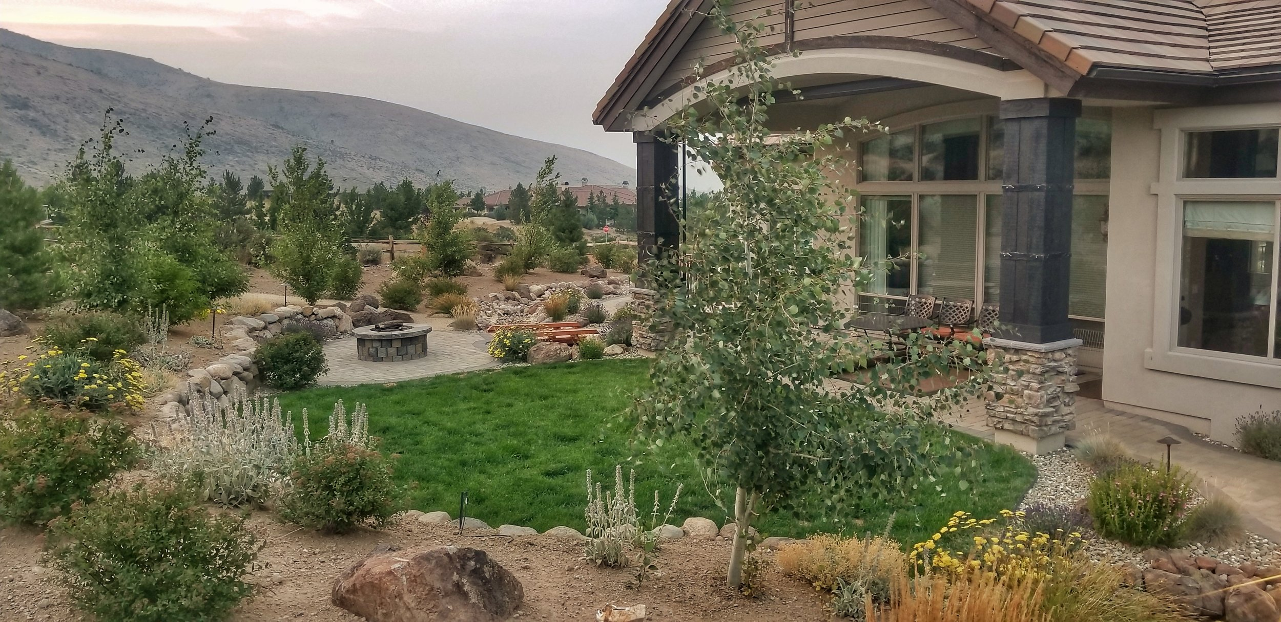 Evergreen Landscape complete installation
