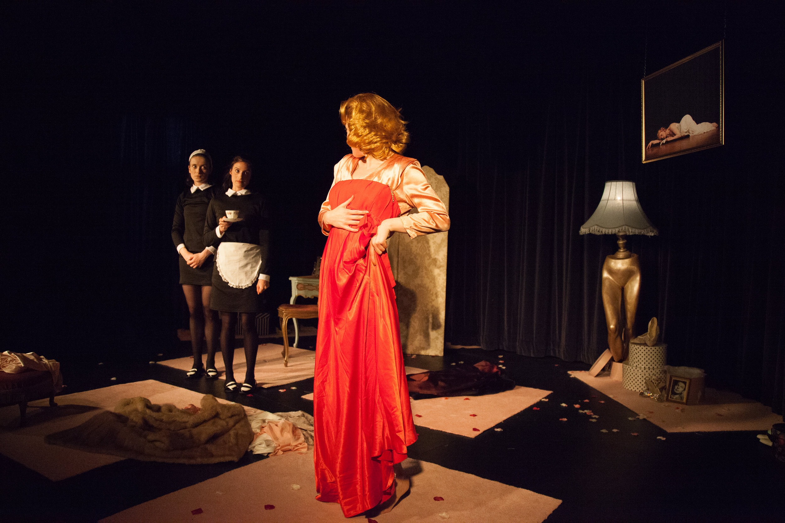THE MAIDS - By Jean GenetSquare Peg TheatreDirector: Michael WhitePhotos: George Hill