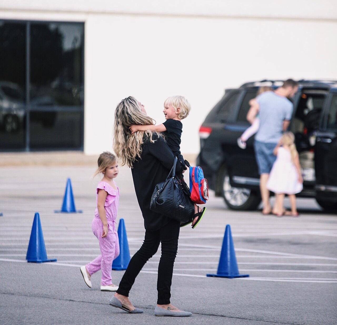victory tulsa family parking lot