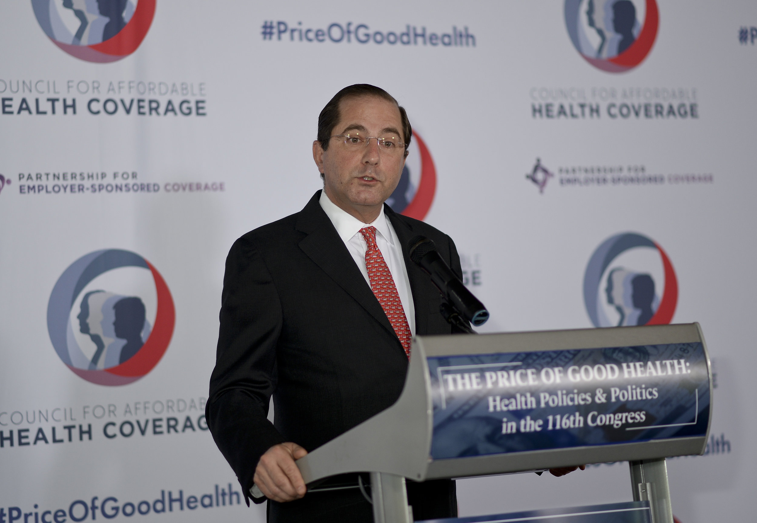 HHS Secretary Alex Azar delivers the morning keynote address