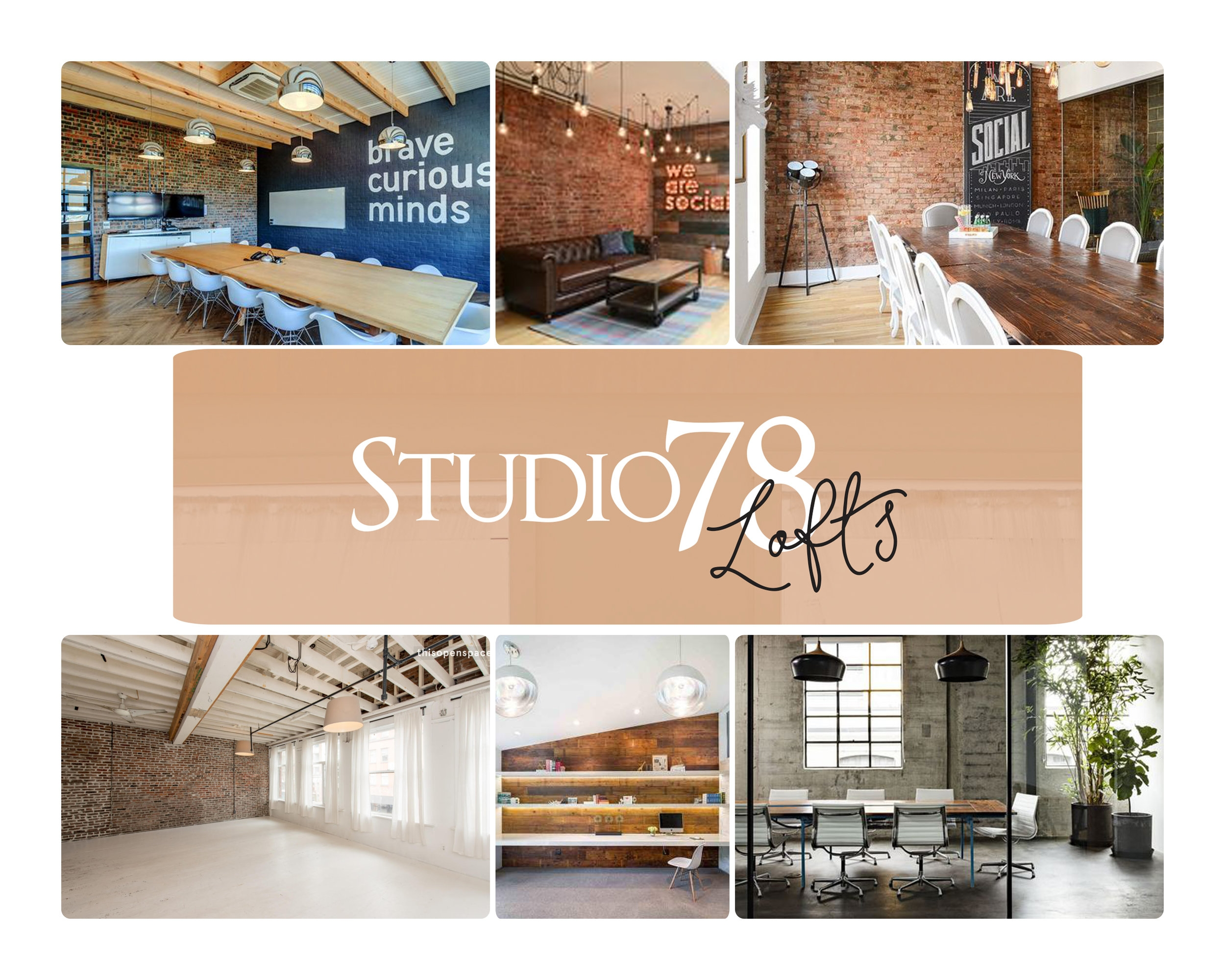 Concept and design of Studio 78 Lofts will be similar to these examples as they are shown for vision and concept only - but with our own unique twists and designs - coming October 2018.