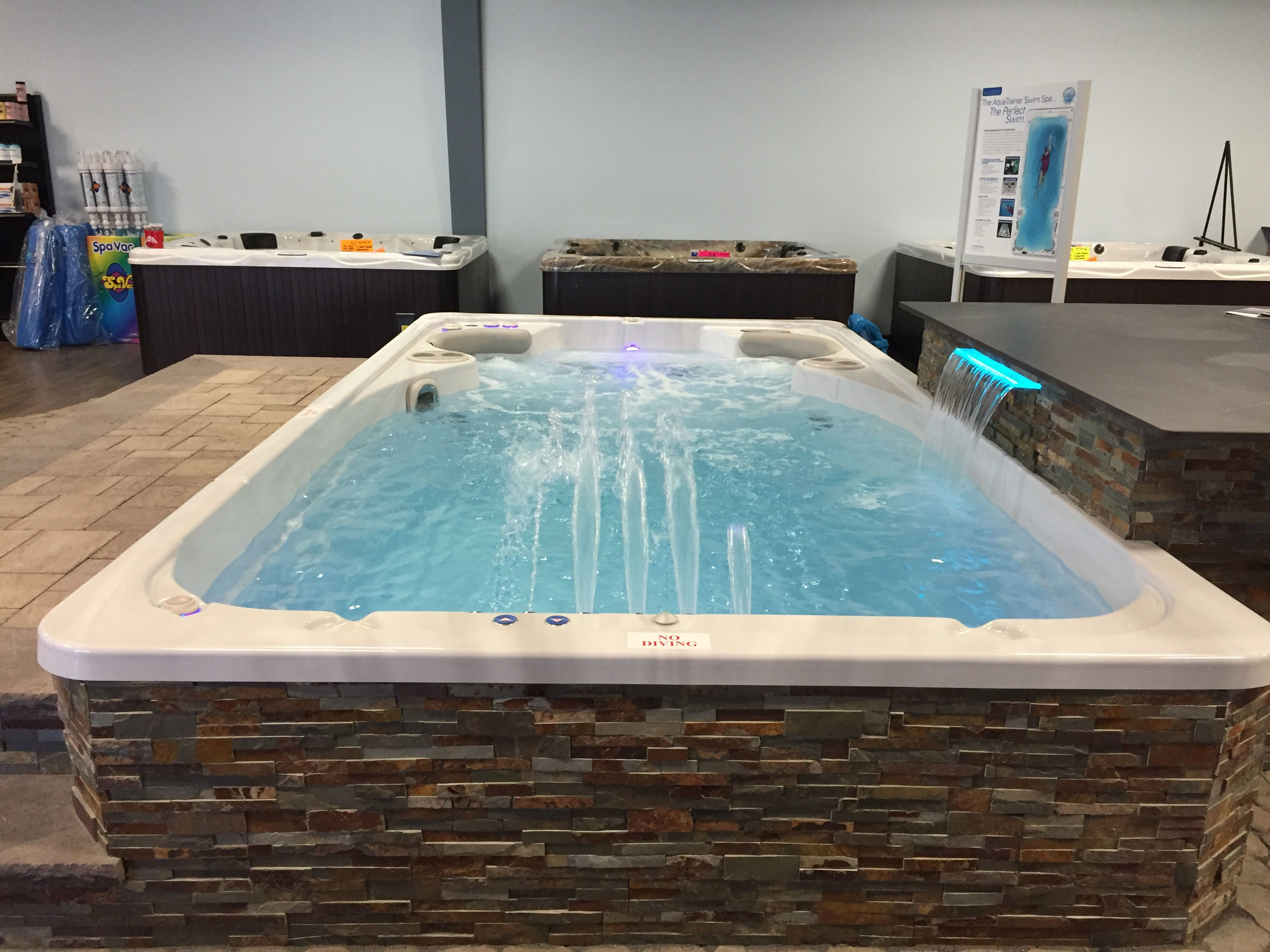 Top indoor hot tub paver design company in Long Island, NY