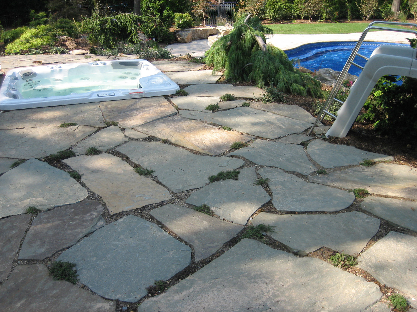 Professional landscape design company with natural stone in Long Island, NY
